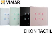 Włączniki dotykowe szklane Vimar Eikon Tactil