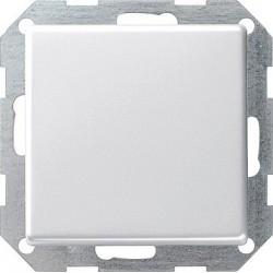 Łącznik przyciskowy przełączalny Gira E22 biały