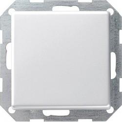 Łącznik przyciskowy krzyżowy Gira E22 biały