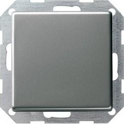 Przycisk kołyskowy przełączalny Gira E22 naturalny stalowy