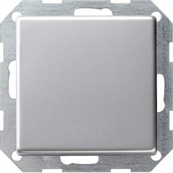 Przycisk kołyskowy przełączalny Gira E22 aluminium
