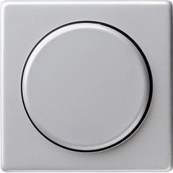 Ściemniacz uniwersalny (wł. przycisk.) 50-420W aluminiowy E22 GIRA