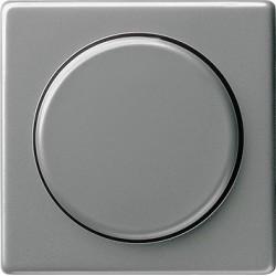 Ściemniacz do lamp żarowych (wł. przycisk.) 100-1000W stalowy E22 GIRA