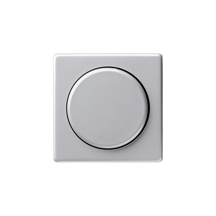 Ściemniacz do lamp żarowych (wł. przycisk.) 100-1000W aluminiowy E22 GIRA