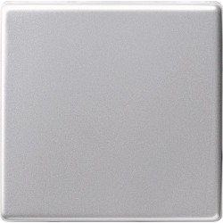 Ściemniacz niskonapięciowy 20-500VA (wł. przycisk.) s.2000 aluminiowy E22 GIRA