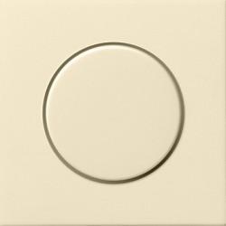 Potencjometr elektroniczny (wł. przycisk.) f. przełączająca kremowy F100 GIRA