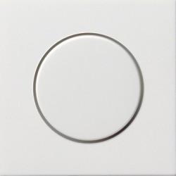 Potencjometr elektroniczny (wł. przycisk.) f. przełączająca biały F100 GIRA