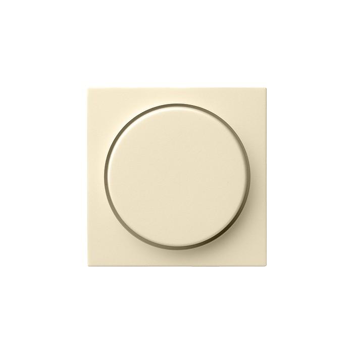 Ściemniacz do lamp żarowych (wł. przycisk.) 60-600W kremowy System 55 GIRA
