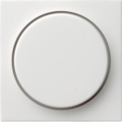 Ściemniacz do lamp żarowych (wł. przycisk.) 60-600W biały matowy System 55 GIRA