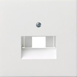Gniazdo internetowe kat.5 ekran. pojedyncze białe F100 GIRA