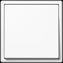 Łącznik pojedynczy uniwersalny (schodowy) biały Jung LS 990