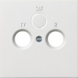 Gniazdo antenowe EDU 04F końcowe białe F100 GIRA