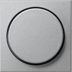 Ściemniacz do lamp żarowych (wł. przycisk.) 60-600W alu System 55 GIRA