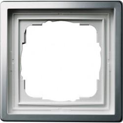 Ramka pojedyncza Gira F100 kolor platyna