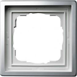Ramka pojedyncza Gira F100 kolor chrom