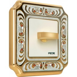 FEDE CRYSTAL DE LUXE PALACE Gold White Platina