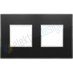 Ramka ozdobna 4M (2+2) 71mm black diamond VIMAR EIKON EVO