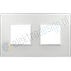 Ramka ozdobna 4M (2+2) 71mm total white diamond VIMAR EIKON EVO