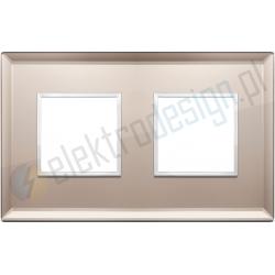 Ramka ozdobna 4M (2+2) 71mm bronze mirror VIMAR EIKON EVO
