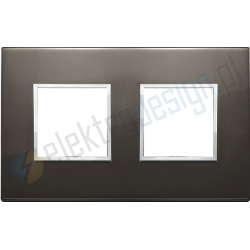 Ramka ozdobna 4M (2+2) 71mm black sapphire VIMAR EIKON EVO