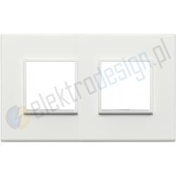 Ramka ozdobna 4M (2+2) 71mm total white VIMAR EIKON EVO