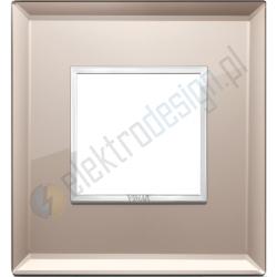 Ramka ozdobna 2M crystal bronze mirror VIMAR EIKON EVO