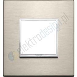 Ramka ozdobna 2M aluminium neutral bronze VIMAR EIKON EVO