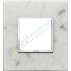 Ramka ozdobna 2M stone Carrara white VIMAR EIKON EVO