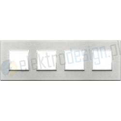 Ramka ozdobna 8M (2+2+2+2) 71mm Next grey VIMAR EIKON EVO