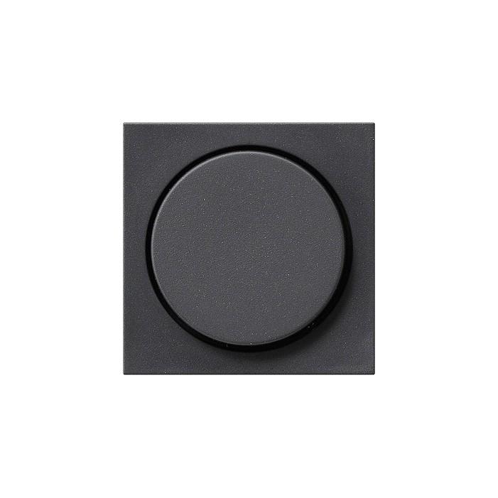 Ściemniacz do lamp żarowych (wł. przycisk.) 100-1000W antracytowy System 55 GIRA
