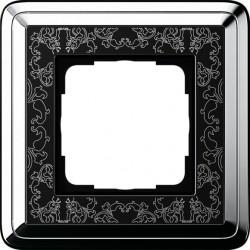 Ramka pojedyncza GIRA ClassiX Art chrom czarny