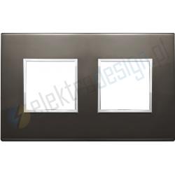 Ramka ozdobna 4M (2+2) 71mm black saphire VIMAR EIKON EVO