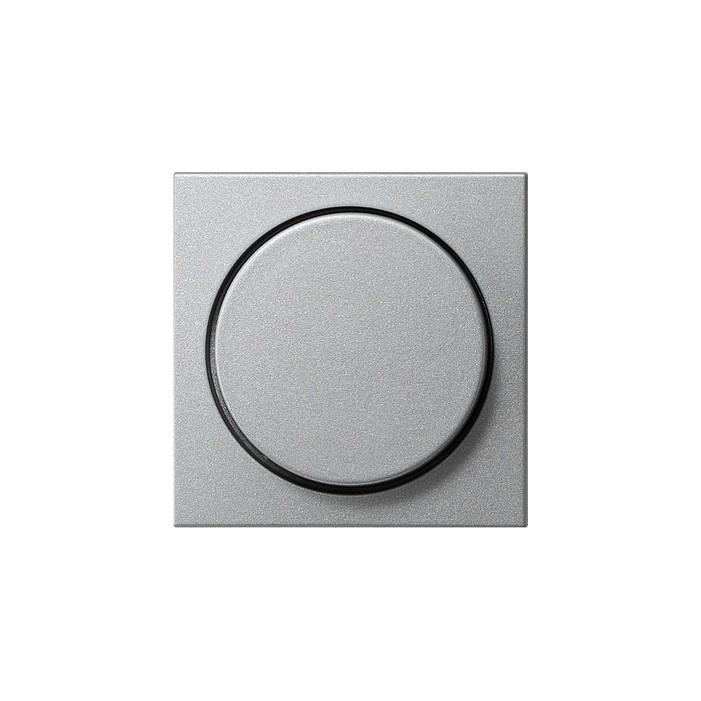 Ściemniacz do lamp żarowych (wł. przycisk.) 100-1000W alu System 55 GIRA
