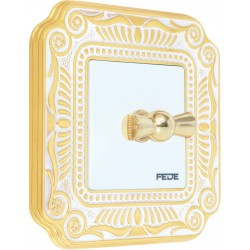 FEDE TOSCANA FIRENZE Gold White Patina