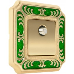FEDE SMALTO ITALIANO SIENA Emerald Green