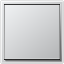 Łącznik pojedynczy uniwersalny (schodowy) aluminium Jung LS Aluminium