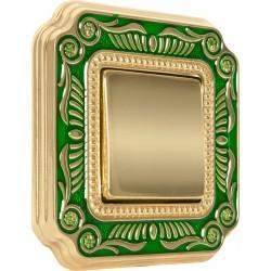 FEDE SMALTO ITALIANO FIRENZE Emerald Green