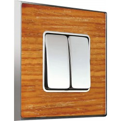 FEDE VINTAGE WOOD Cherry Bright Chrome