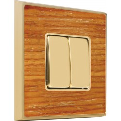 FEDE VINTAGE WOOD Cherry Bright Gold