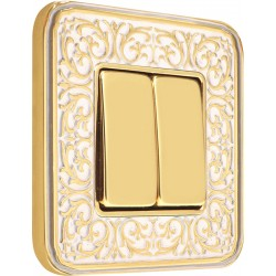 FEDE EMPORIO Gold White Patina
