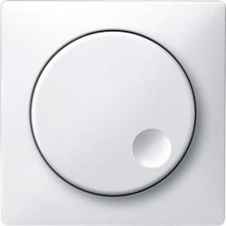 Ściemniacz obrotowy do obciążeń indukcyjnych, biały połysk, Antique/Artec