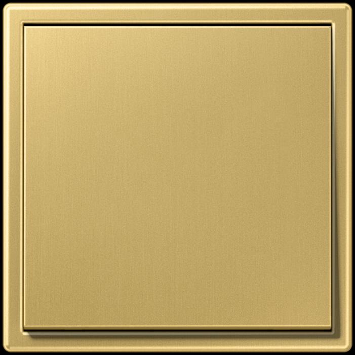 Jung LS Mosiądz Klasyczny - włącznik pojedynczy uniwersalny/schodowy kompletny