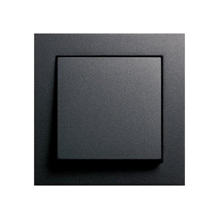 Gira E2 - Włącznik pojedynczy uniwersalny (schodowy) antracytowy - komplet