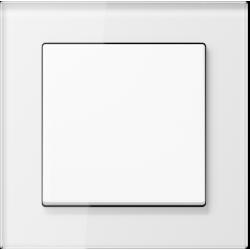 Łącznik pojedynczy uniwersalny (schodowy) biały Jung A Creation