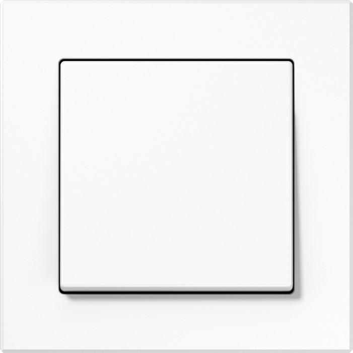 Jung Acreation włącznik biały w połysku uniwersalny. KOMPLET