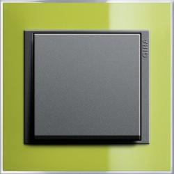 Gira Event Clear zielony/antracyt Łącznik uniwersalny - KOMPLET