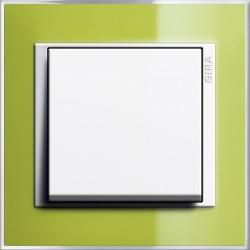 Gira Event Clear zielony/biały Łącznik uniwersalny - KOMPLET
