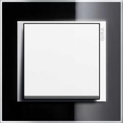 Gira Event Clear czarny/biały Łącznik uniwersalny - KOMPLET