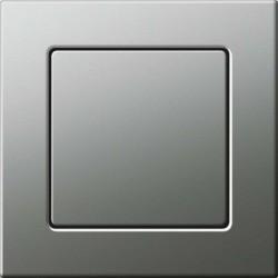 Gira E22 Włącznik stalowy, schodowy uniwersalny - KOMPLET