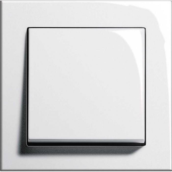 Gira E2 - Włącznik pojedynczy uniwersalny (schodowy) biały połysk - komplet